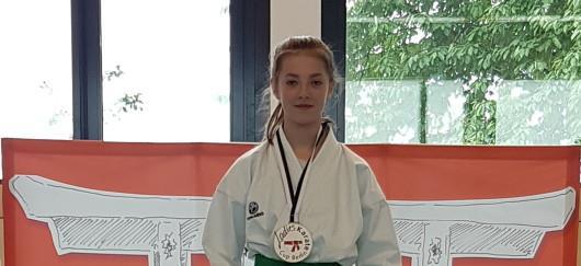 Ladies Karate Cup 2019: Platz 1 Kata für Helene