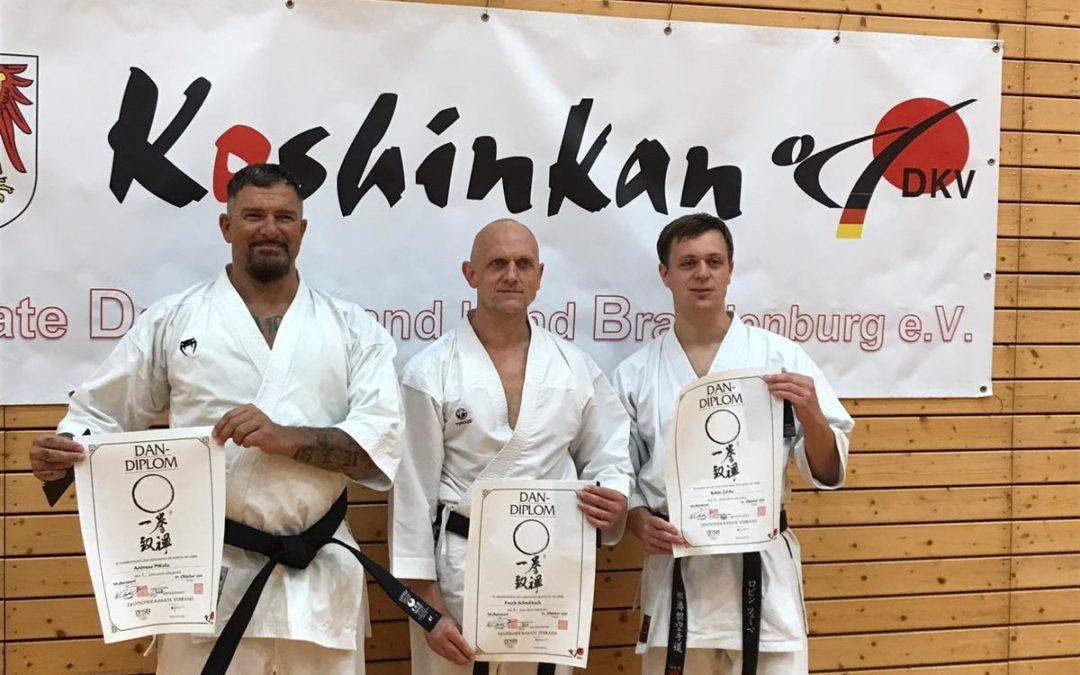DAN-Prüfungen 2019 in Woltersdorf